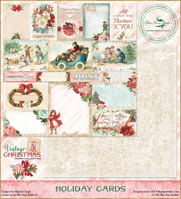 Vintage Christmas 2 - Holiday Cards