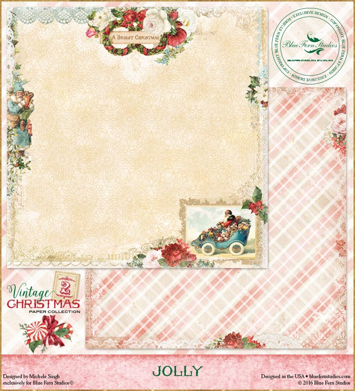 Vintage Christmas 2 - Jolly