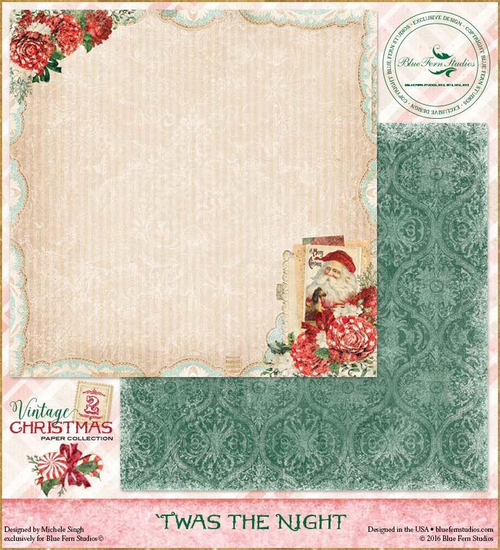 Vintage Christmas 2 - Twas the Night