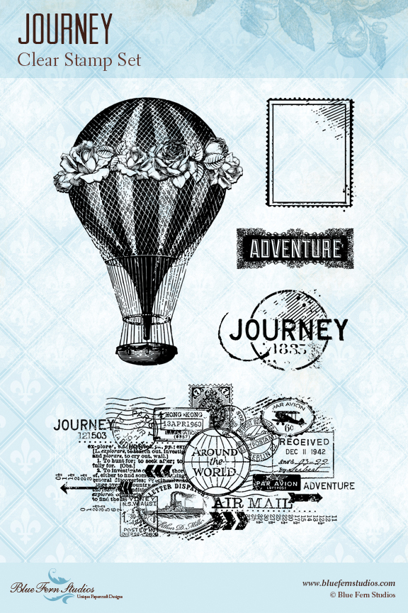 Stamp: Journey - Click Image to Close