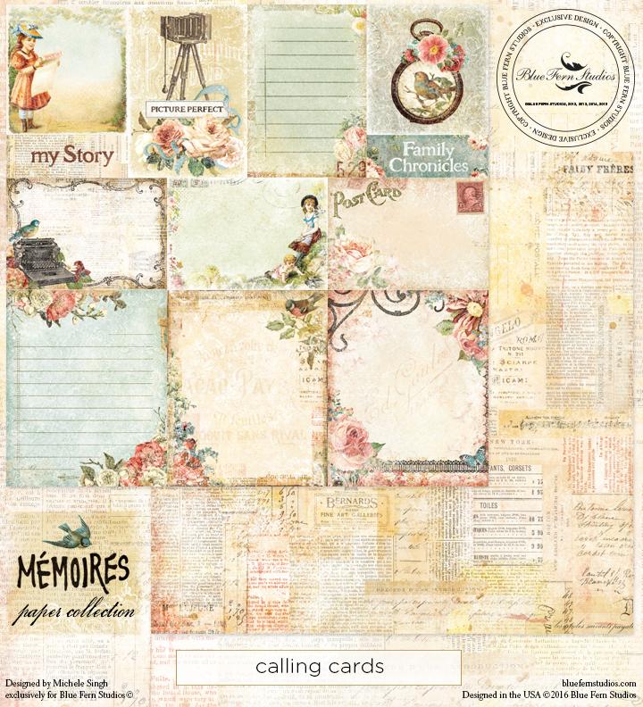 Memoires - Calling Cards
