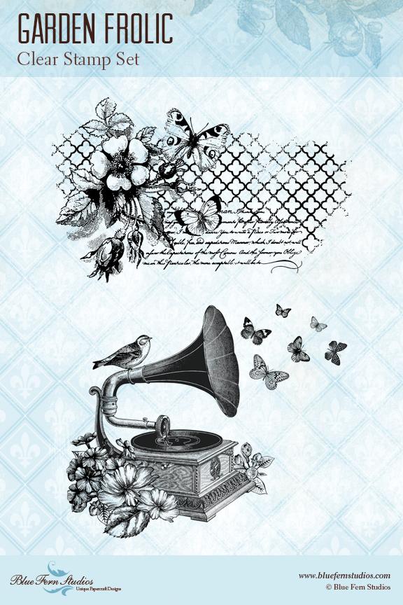 Stamp - Garden Frolic