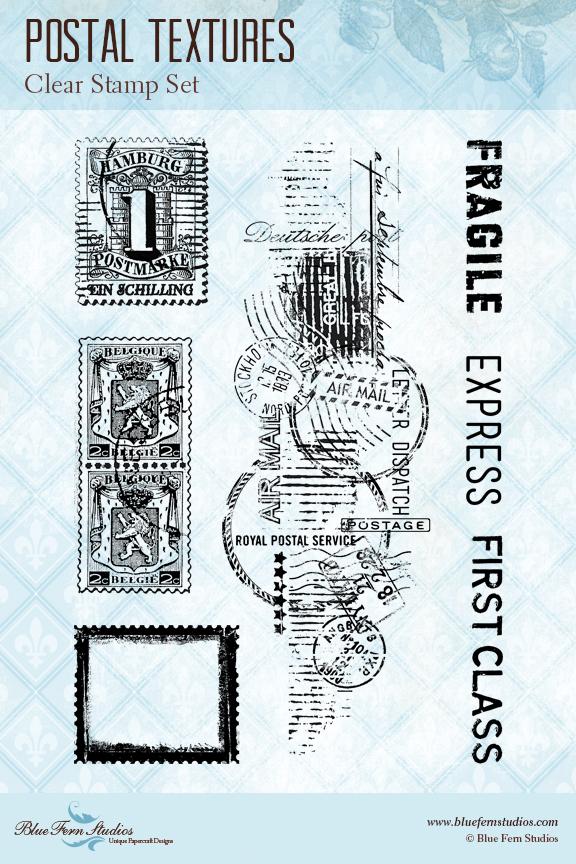 Stamp: Postal Textures
