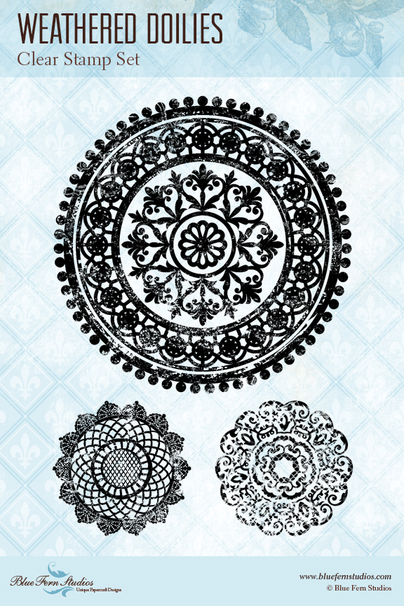 Stamp: Weathered Doilies - Click Image to Close