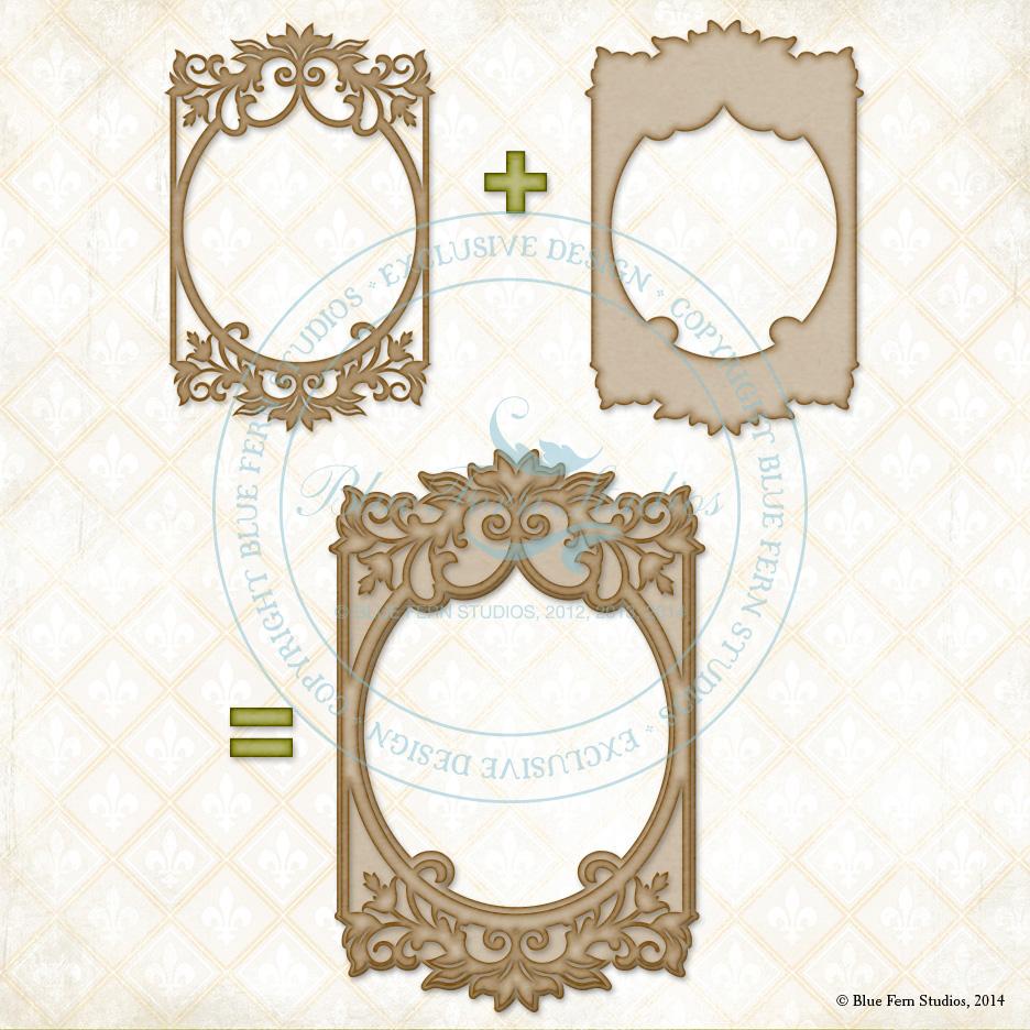 Bordeaux Layered Frame