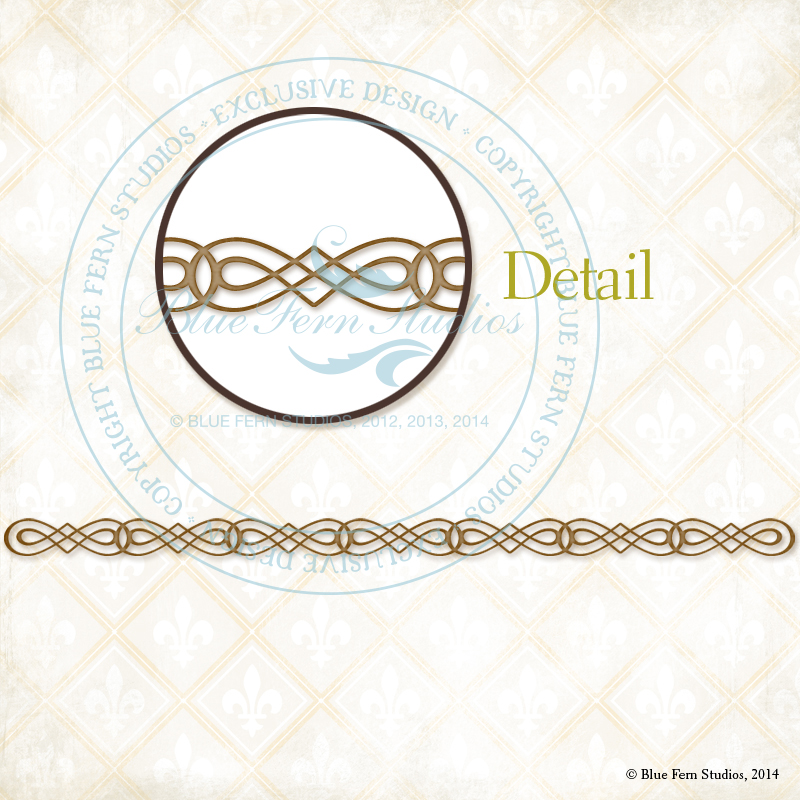 Calligraphic Border - Click Image to Close