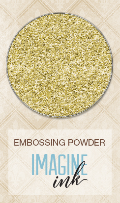 Embossing Powder - Antique Gold