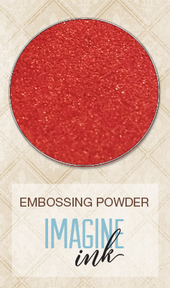 Embossing Powder - Poinsettia