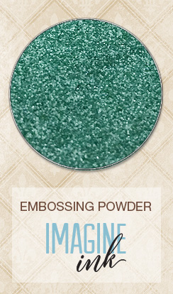 Embossing Powder - Fern