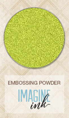 Embossing Powder - Lime