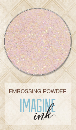 Imagine Ink - Embossing Powder - Petal - Click Image to Close