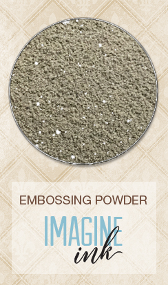 Embossing Powder - Black Sand