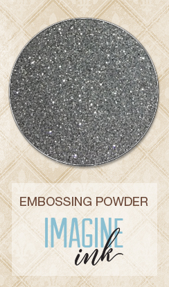 Embossing Powder - Silver Bells