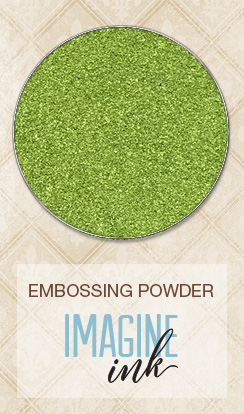 Embossing Powder - Sage - Click Image to Close