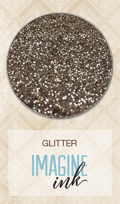 Imagine Ink - Glitter - Pyrite - Click Image to Close
