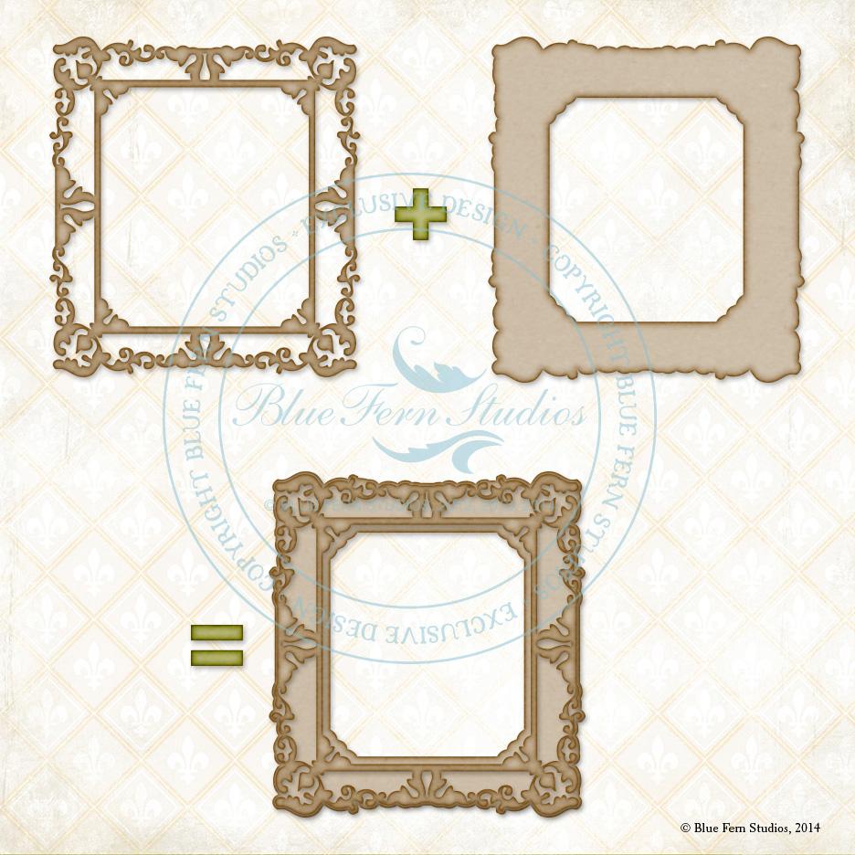Shabby Layered Frame