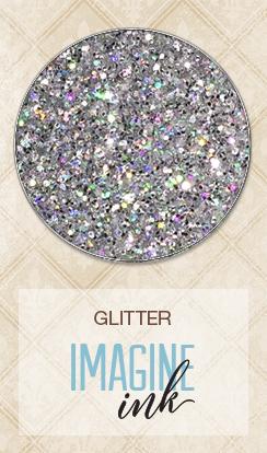 Glitter - Silver Prism