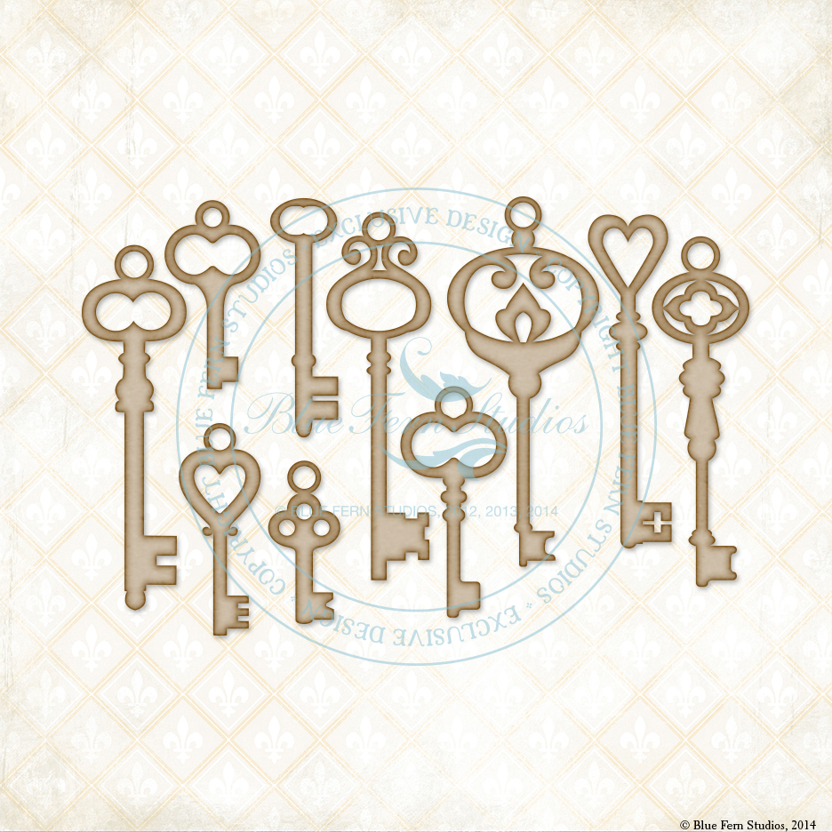 Vintage Keys - Click Image to Close